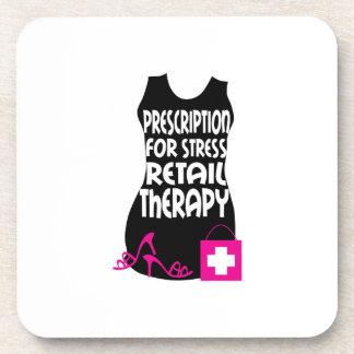 Prescripción para la terapia de la venta al por me posavaso