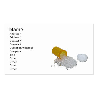 Prescription Bottle of Diamonds Double-Sided Standard Business Cards (Pack Of 100)