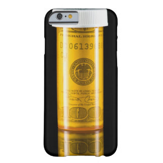 Prescription bottle with one hundred dollar bill barely there iPhone 6 case