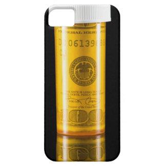 Prescription bottle with one hundred dollar bill iPhone SE/5/5s case