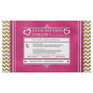 Prescription for Love Custom Valentine's Chocolate 45 Piece Box Of Chocolates