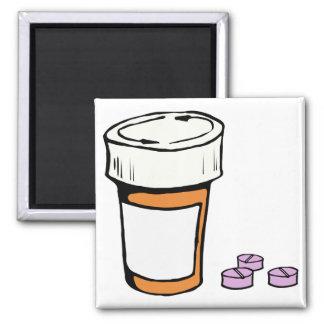 Prescription Pill Bottle Magnet