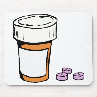 Prescription Pill Bottle Mouse Pad