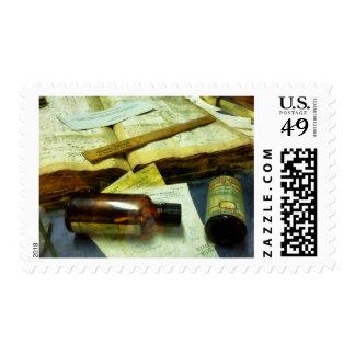 Prescriptions and Medicine Bottles Postage
