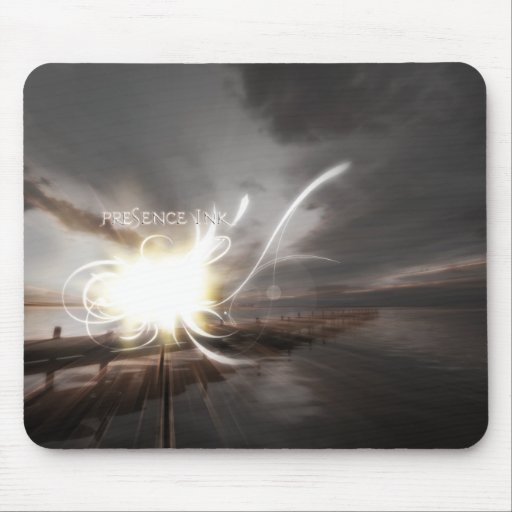 Presence Ink Mouse Pad