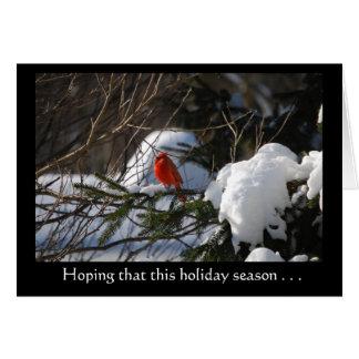 'Presence of Love' Holiday Greetings Greeting Card
