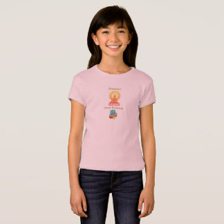 """Presence over Presents"" girl's tee"