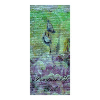 Presencia de la tarjeta de la escritura del follet tarjetas publicitarias personalizadas
