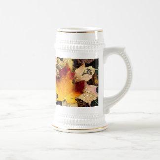 presencia del otoño tazas de café