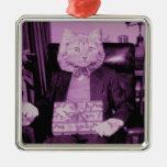Present Cat Ornaments