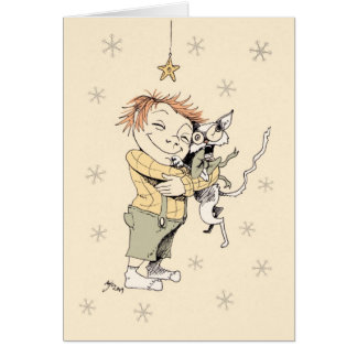Present for little boy greeting card