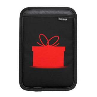 Present In A Red Box Sleeve For iPad Mini