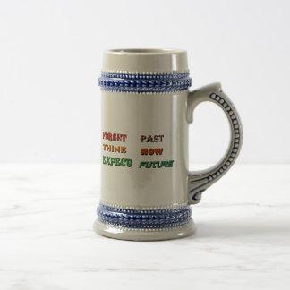 Present Past Future 18 Oz Beer Stein