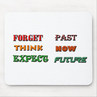Present Past Future Mouse Pad