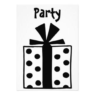 present personalized invitation