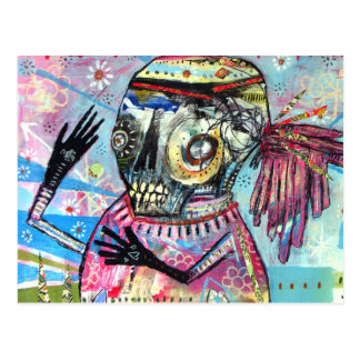 Present Tense Postcard