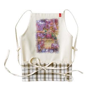 Present wall zazzle HEART apron