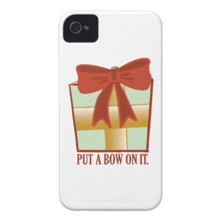 Present With Bow iPhone 4 Case-Mate Cases