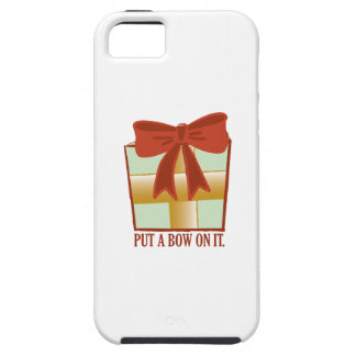 Present With Bow iPhone 5/5S Covers