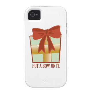 Present With Bow Case-Mate iPhone 4 Covers
