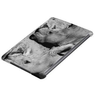presentación blanco y negro del hipopótamo