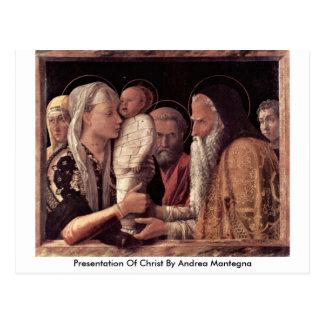 Presentación de Cristo de Andrea Mantegna Postales
