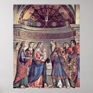 Presentación de Jesús de Vittore Carpaccio Poster