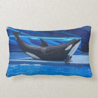 Presentación de la almohada de la orca