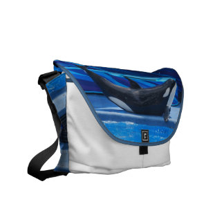 Presentación de la bolsa de mensajero de la orca bolsas de mensajeria
