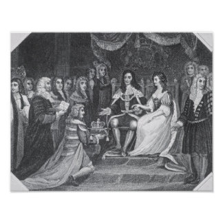 Presentación de la Declaración de Derechos Poster