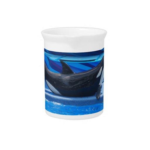 Presentación de la jarra de la orca