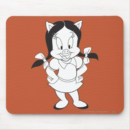 Presentación de la petunia mousepads