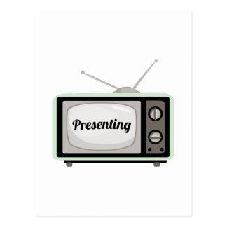 Presentación de la TV Postal