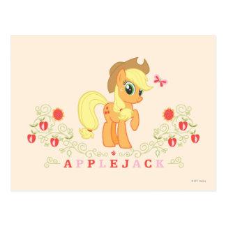 Presentación del aguardiente de manzana postal