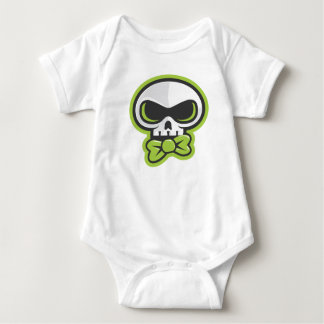 presentación del atuendo de Blaine K Skully Body Para Bebé