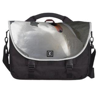 Presentación del cisne bolsas de ordenador