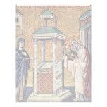 Presentación del Jesús infantil en el templo cerca Membretes Personalizados