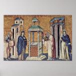 Presentación del Jesús infantil en el templo cerca Posters