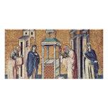 Presentación del Jesús infantil en el templo cerca Tarjetas Con Fotos Personalizadas