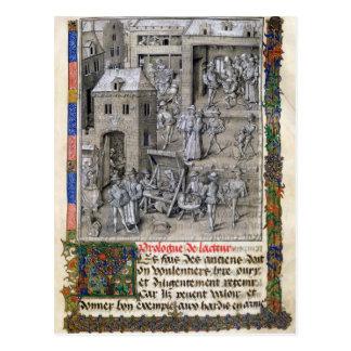 Presentación del libro a Felipe Le Bon Postales