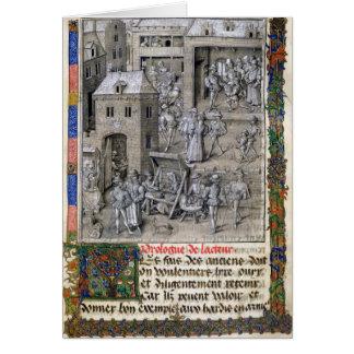 Presentación del libro a Felipe Le Bon Tarjeta De Felicitación