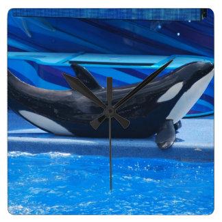 Presentación del reloj de pared de la orca