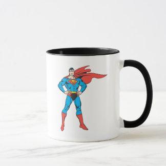 Presentación del superhombre taza