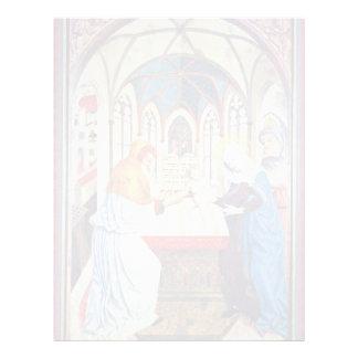 Presentación en el templo de Meister Der Pollinge Membrete Personalizado