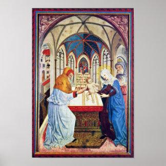 Presentación en el templo de Meister Der Pollinge Impresiones