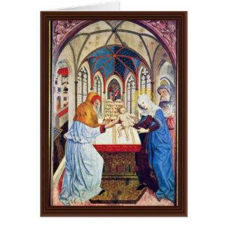 Presentación en el templo de Meister Der Pollinge Felicitacion