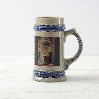 Presentación en el templo de Meister Der Pollinge Taza De Café