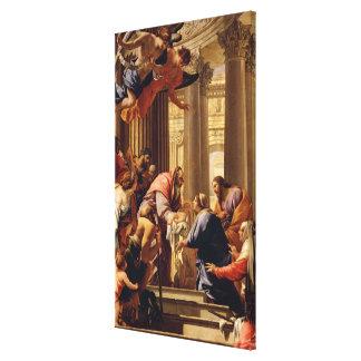 Presentación en el templo impresión en lona