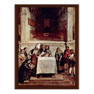 Presentación en el templo por la loteria Lorenzo ( Postales