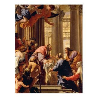 Presentación en el templo tarjeta postal